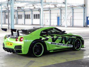 Nissan GTR 1200R Hulk Tuning SVM 2010