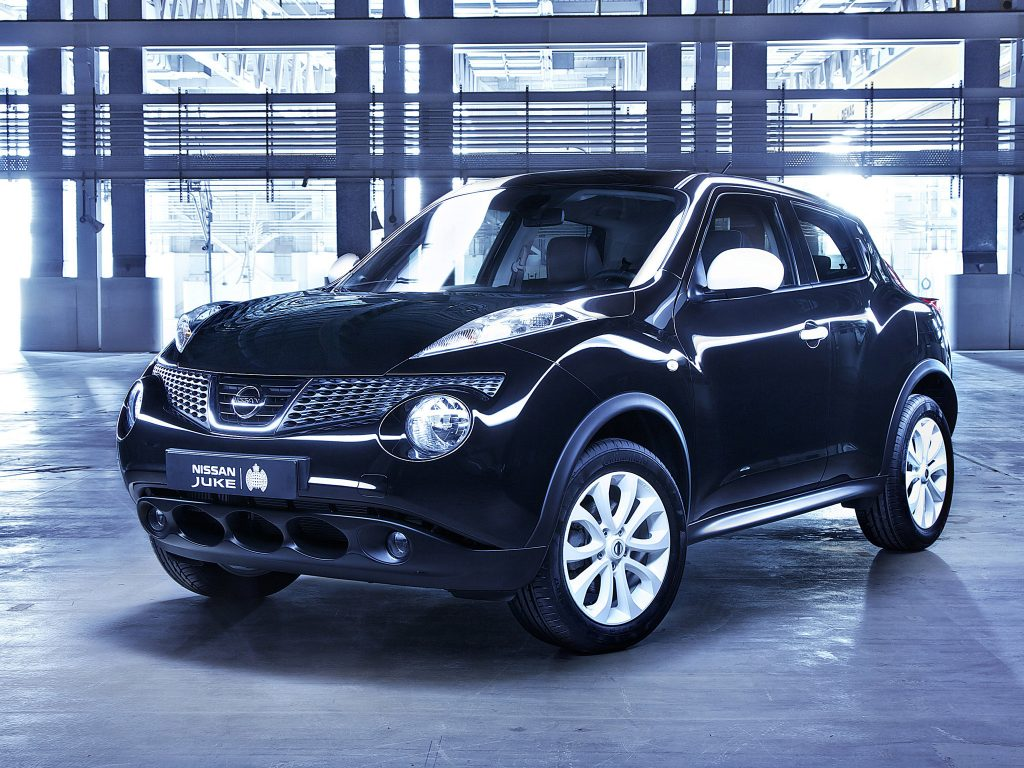 2012 Nissan Juke Ministry of Sound YF15