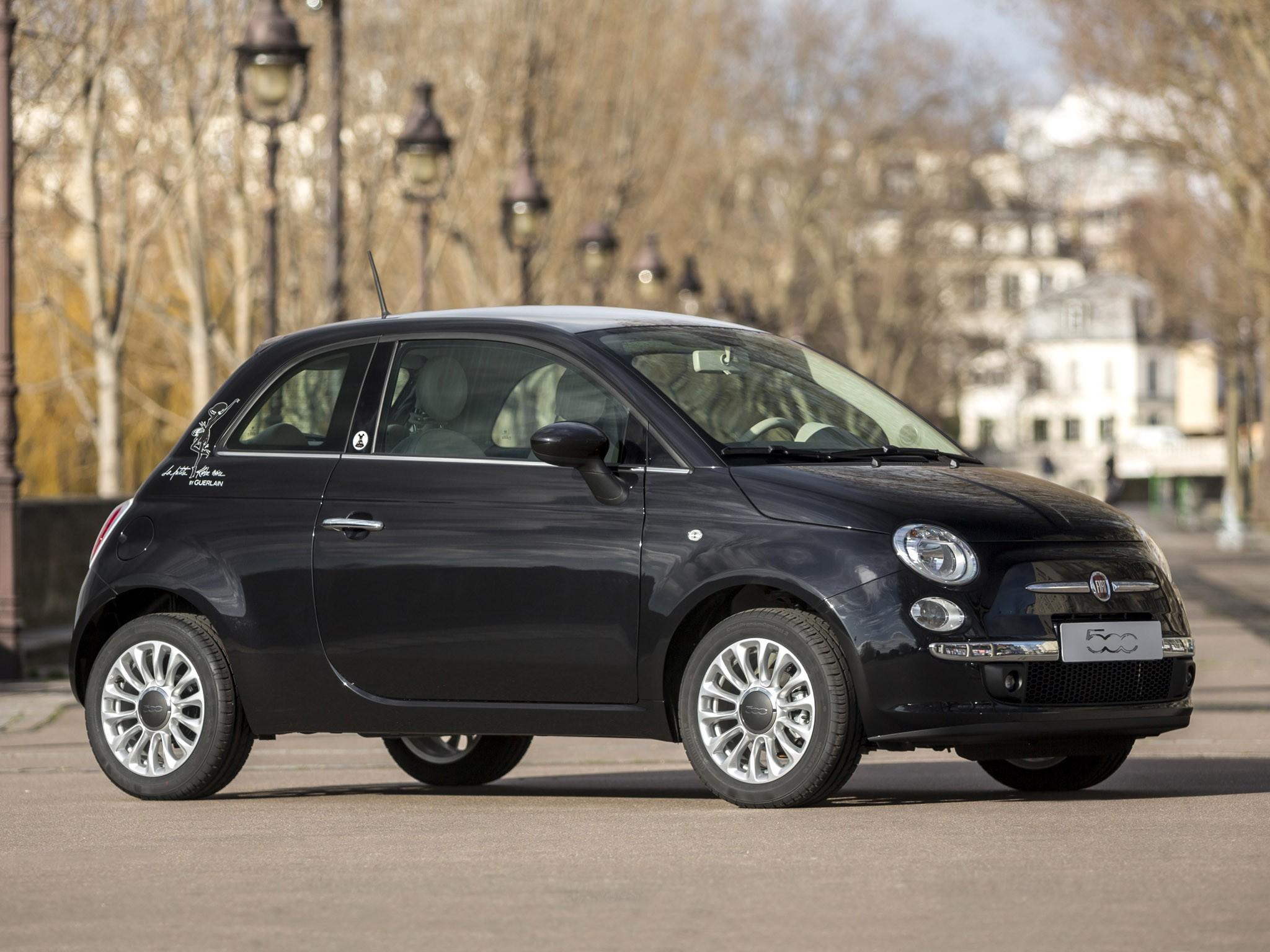 Fiat 500 la petite robe noire Guerlain 2014