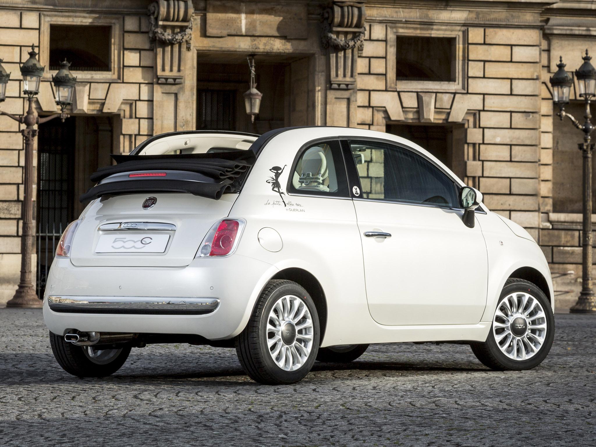Fiat 500c la petite robe noire Guerlain 2014