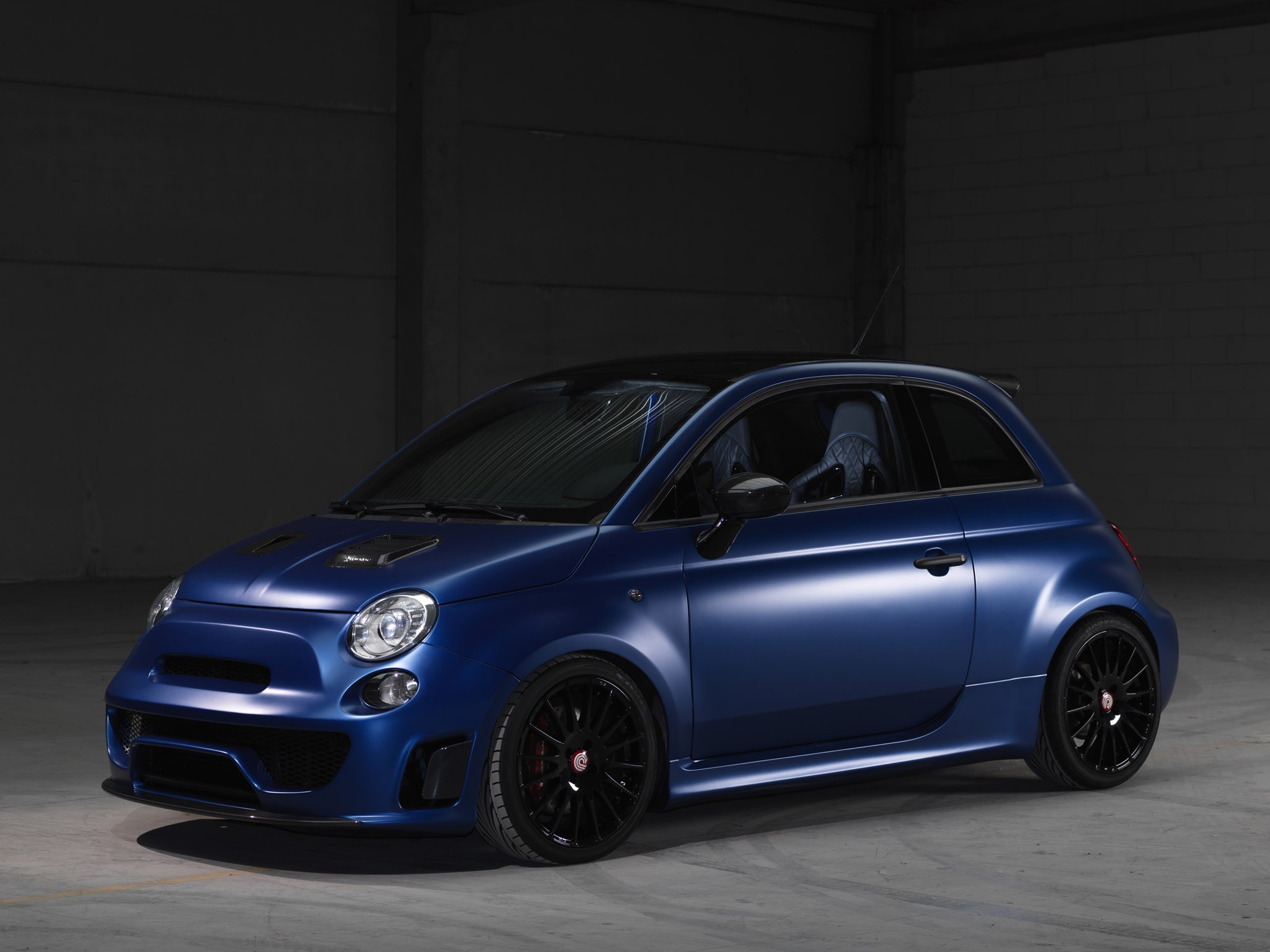 Abarth 500 Blue Wonder Pogea Racing 2015