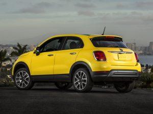 Fiat 500X Trekking USA 2015