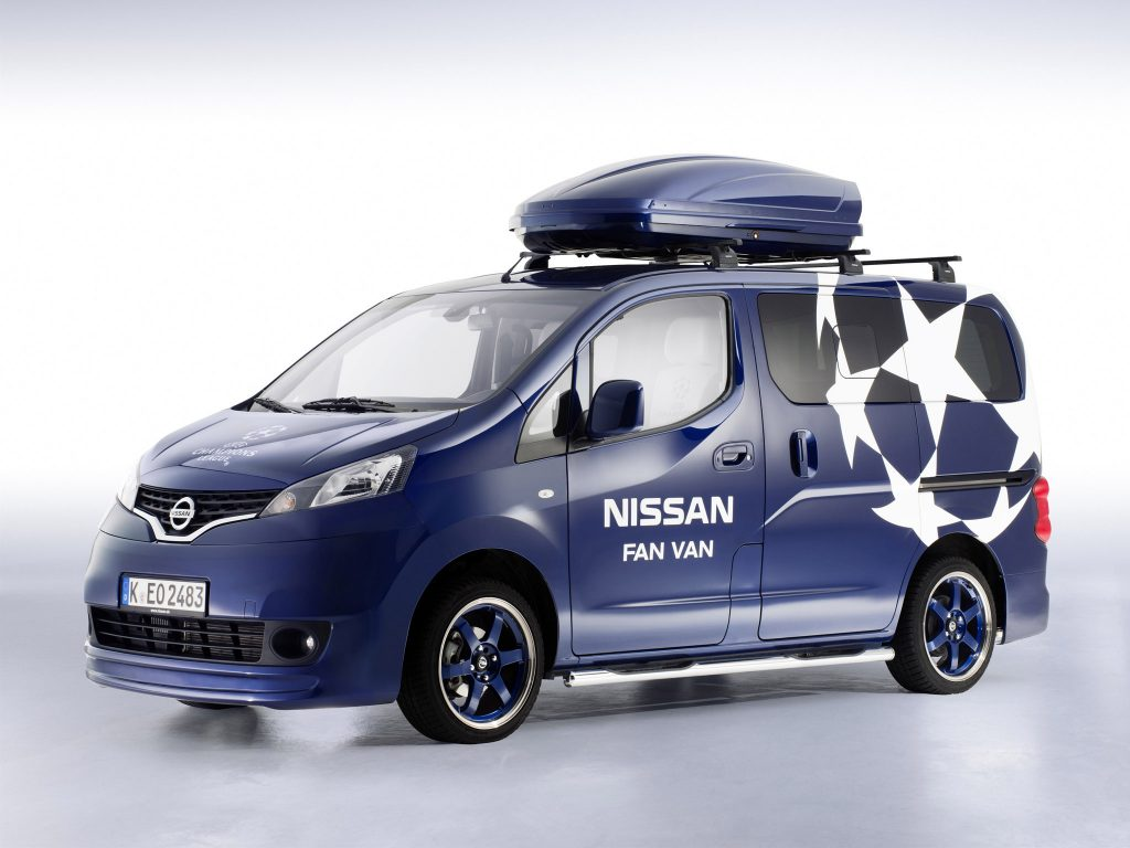 2015 Nissan NV200 Evalia Fan Van