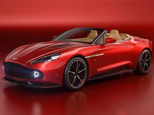 Aston Martin Vanquish Zagato Volante 2017