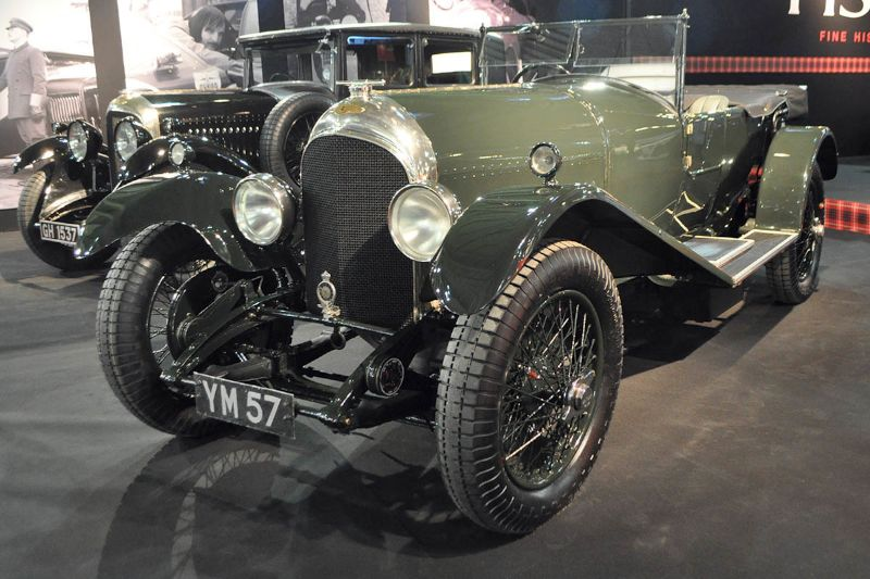 Bentley 3-4 1/2 Litre - 1926 - Retromobile 2013