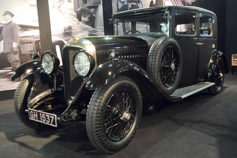 Bentley 4 1/2 Litre Sport Saloon - 1930 - Retromobile 2013