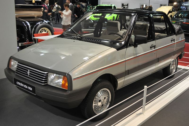 Citroën Visa Convertible - 1984 - Retromobile 2013