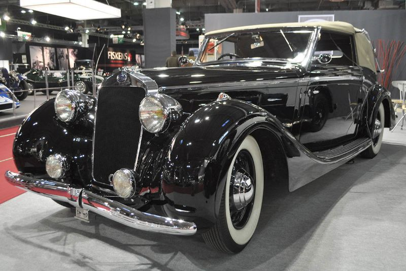Delage D6-70 Cabriolet Grand Luxe - 1937 - Retromobile 2013