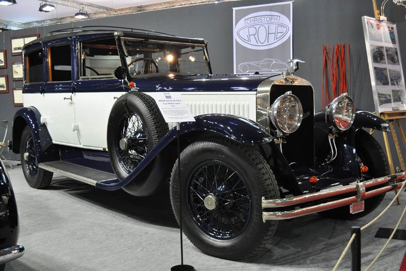 Hispano-Suiza Type H6B Franay - 1923 - Retromobile 2013