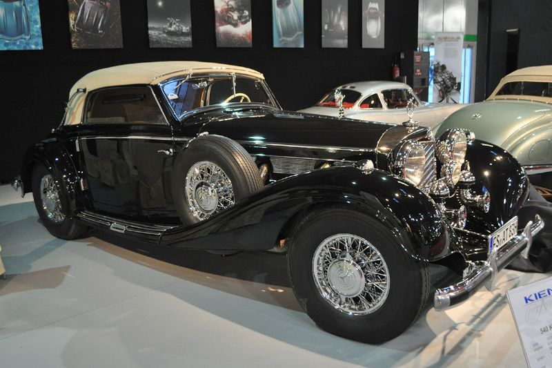 Mercedes-Benz 540K Cabriolet A - 1937 - Retromobile 2013
