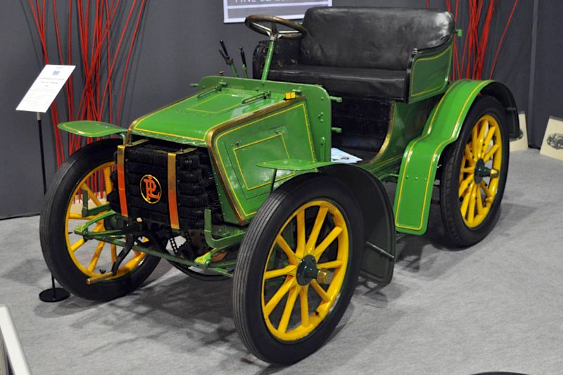 Panhard-Levassor Type A2 Tonneau - 1901