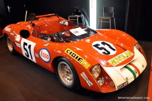 Abarth 1000 SP 1969 - Retromobile 2015
