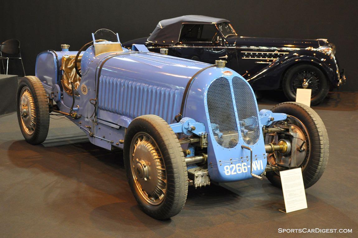 Bugatti T53 – 1931 - Retromobile 2015