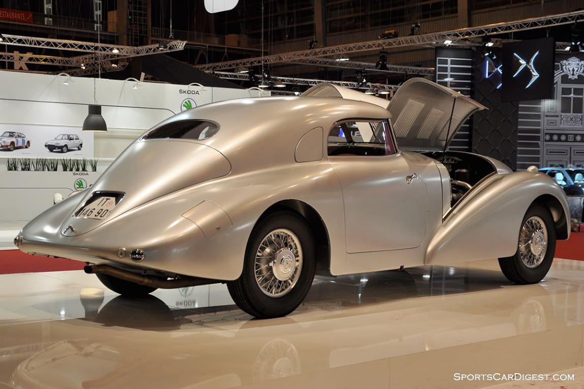 Mercedes-Benz 540 K Stromlinienwagen – 1938 - Retromobile 2015