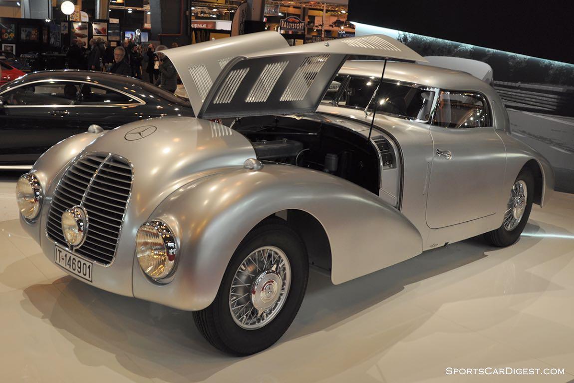 Mercedes-Benz 540 K Stromlinienwagen - 1938 - Retromobile 2015