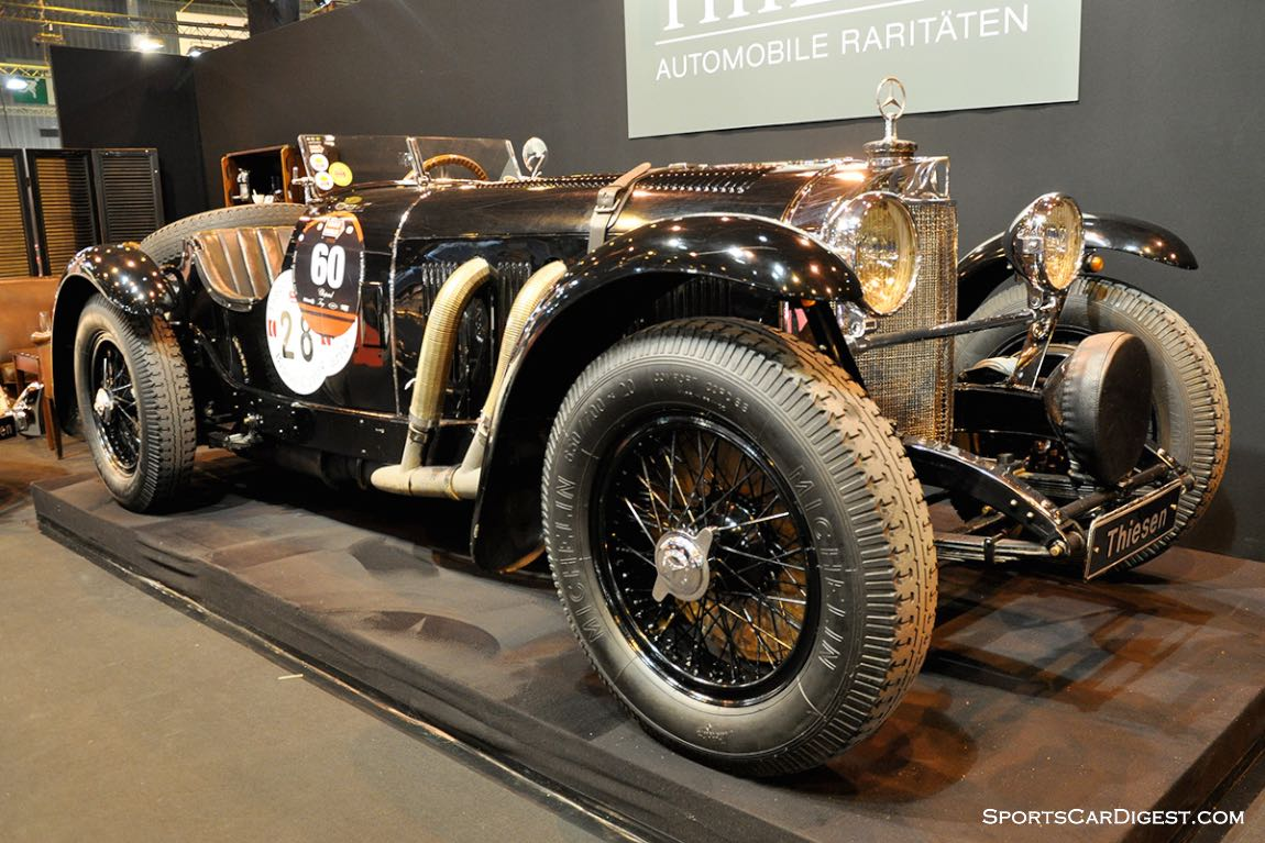 Mercedes-Benz SSK 7.1 Kompressor – 1928 - Retromobile 2015
