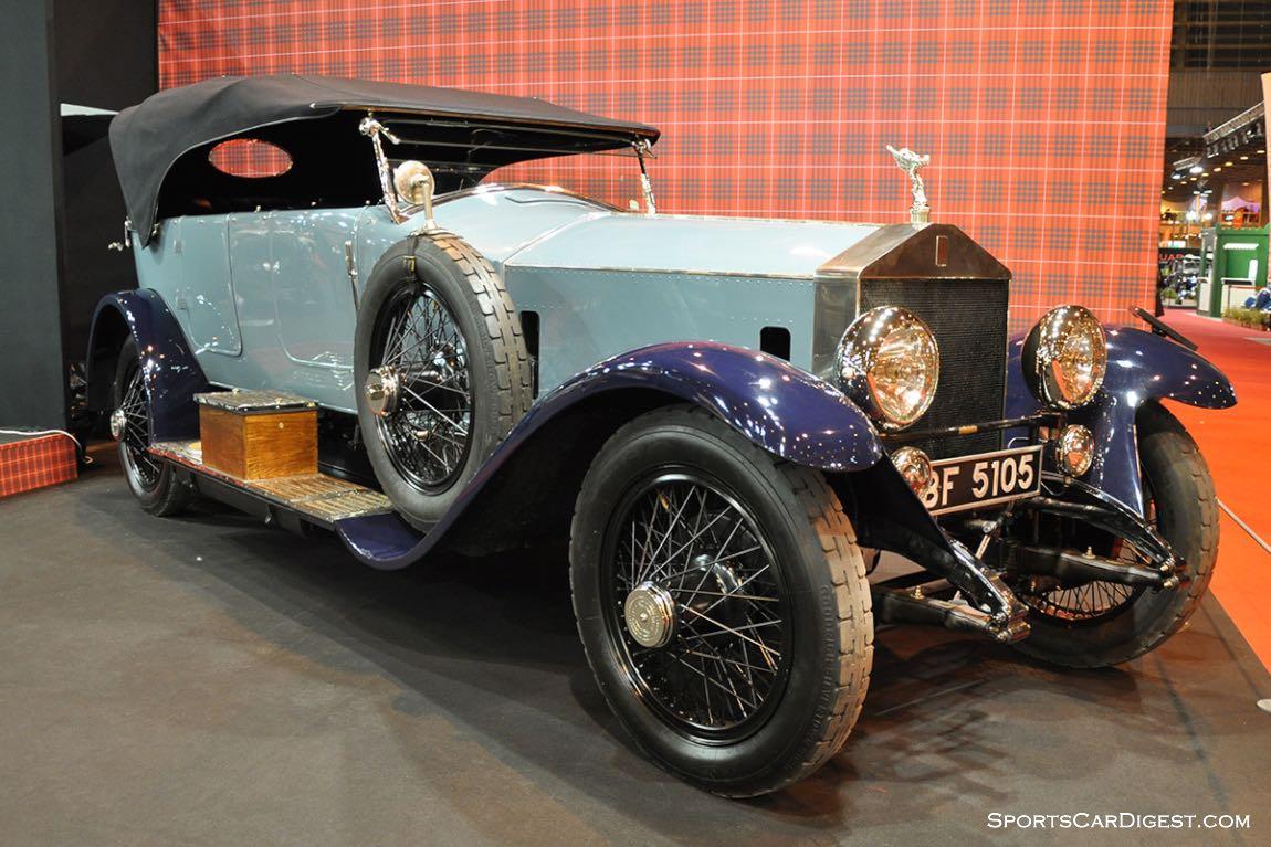 Rolls-Royce Silver Ghost Tourer by Million Guiet – 1924 - Retromobile 2015