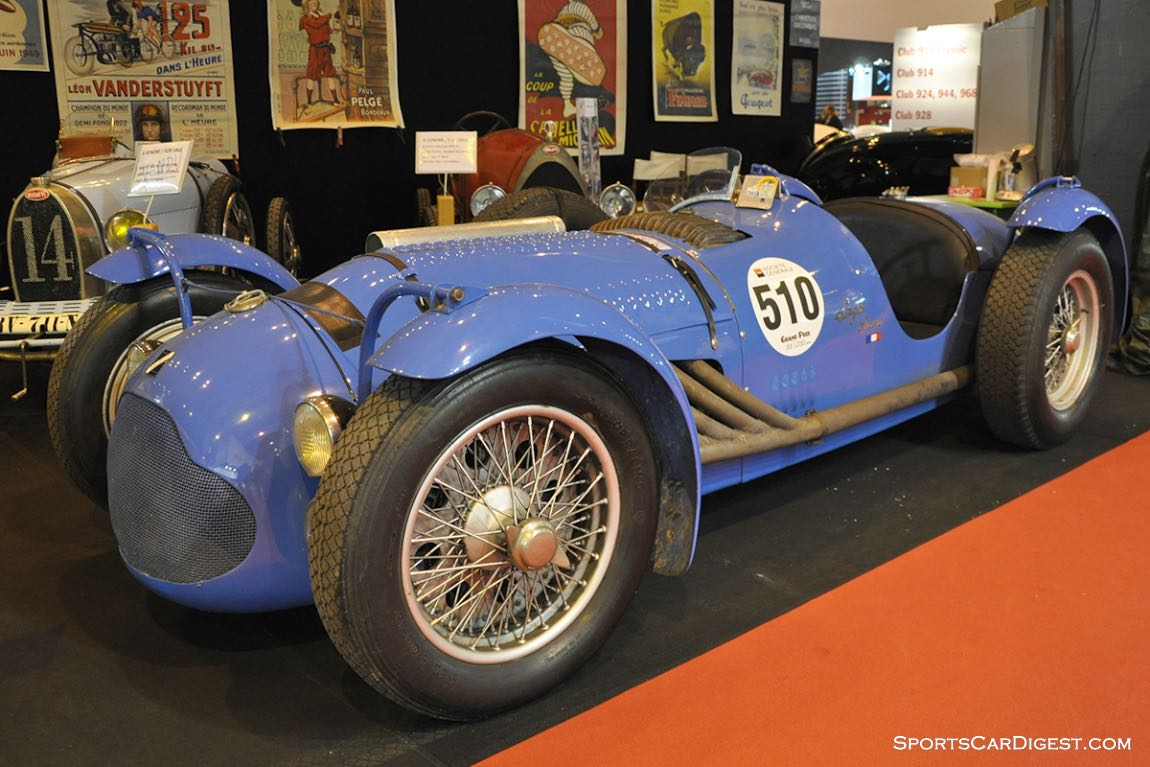 Talbot Lago T26 GS – 1946 - Retromobile 2015