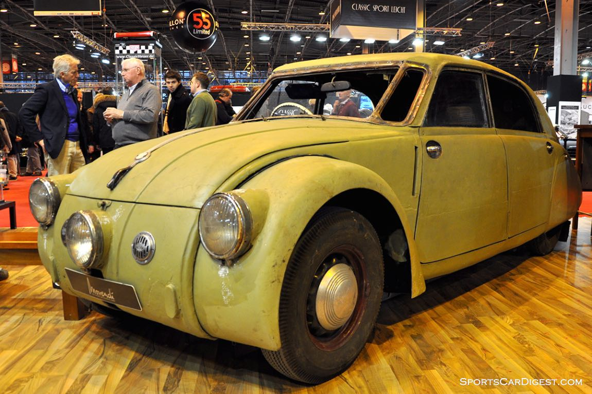 Tatra 77 A – 1935 - Retromobile 2015
