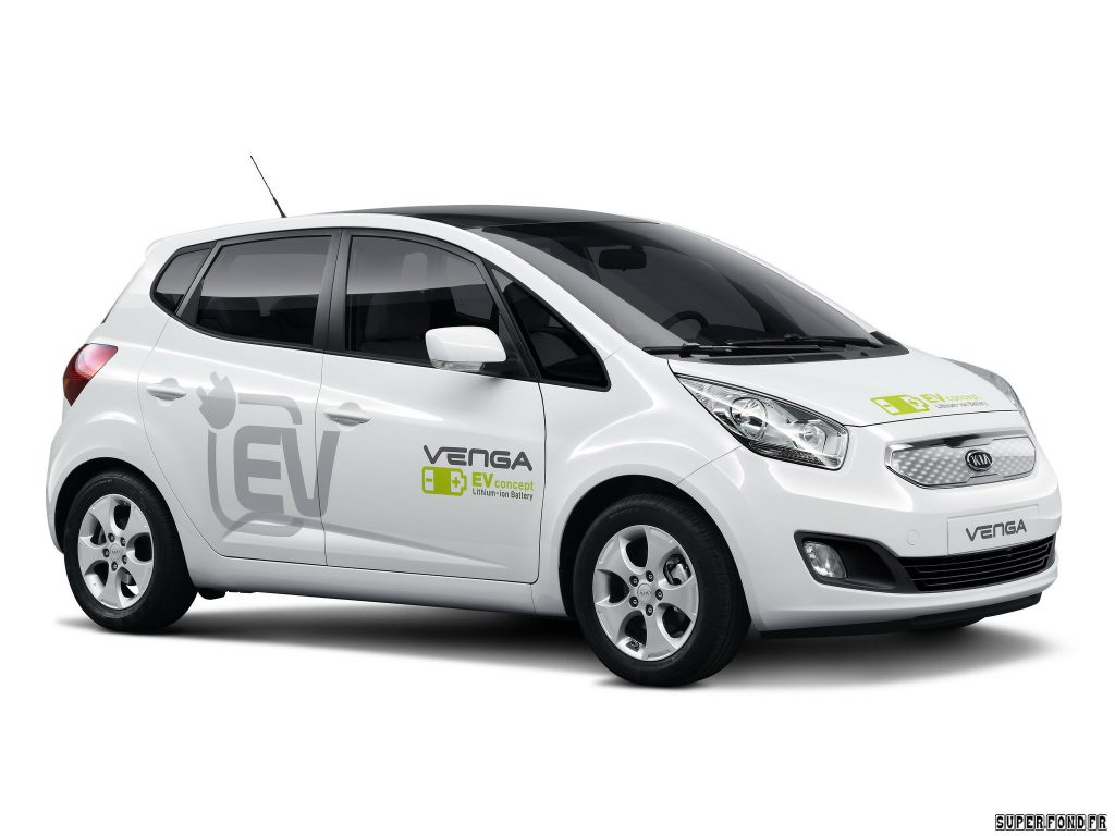 2010 Kia Venga Plugin Electric Concept