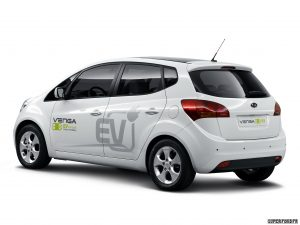 Kia Venga Plugin Electric Concept 2010