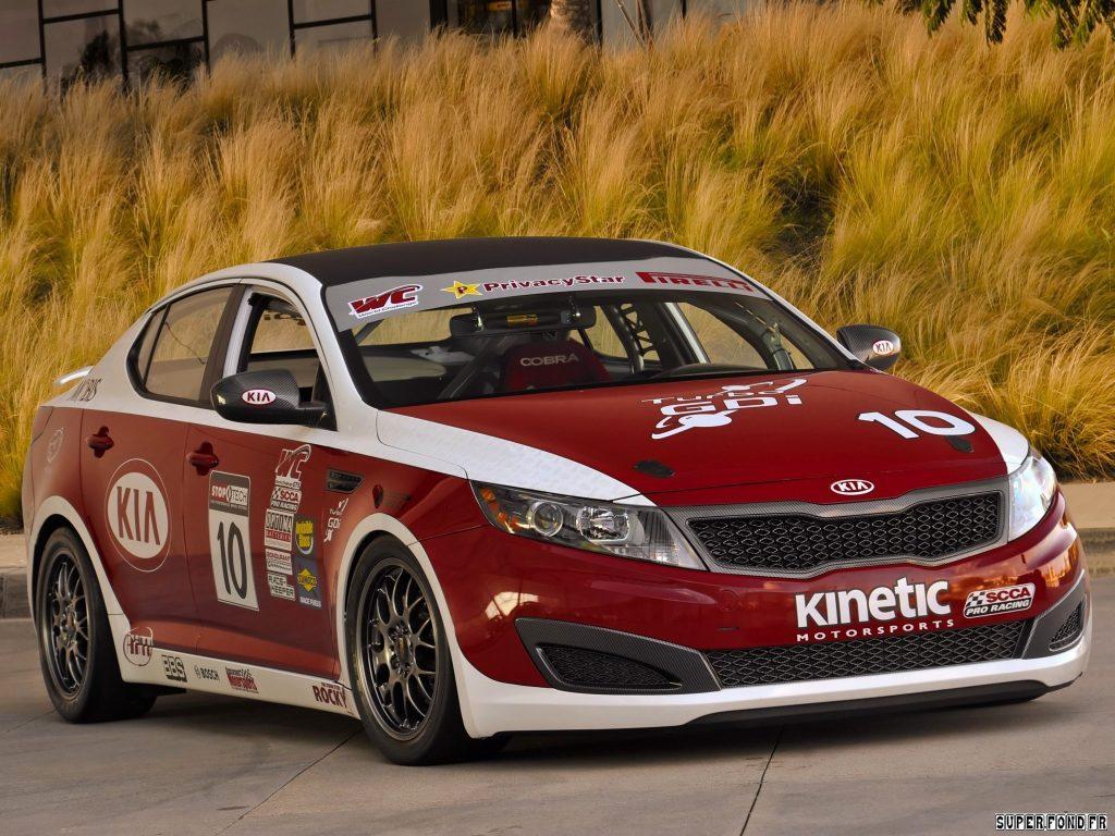 2011 Kia Optima SX World Challenge GTS Race-car
