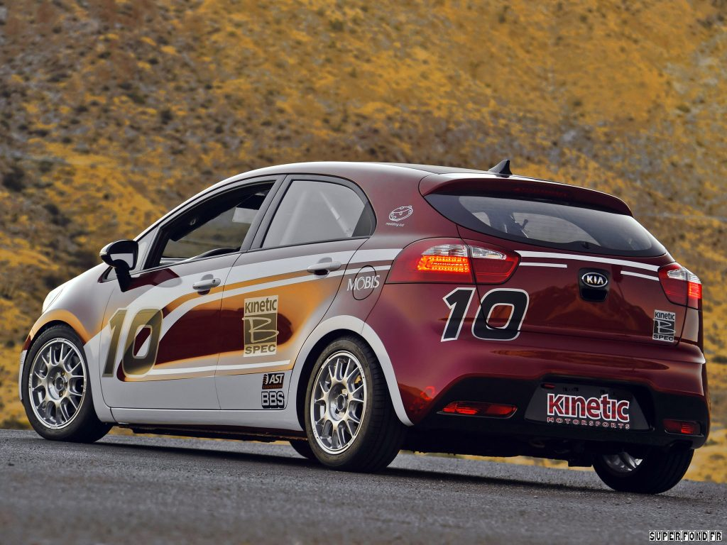 Kia Rio B Spec Racer 2011