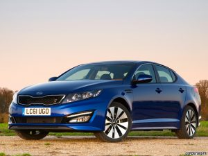 Kia Optima Ecodynamics UK 2012