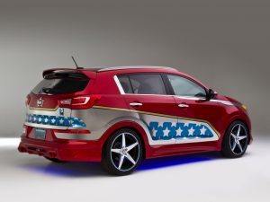 Kia Sportage Wonder Woman 2013