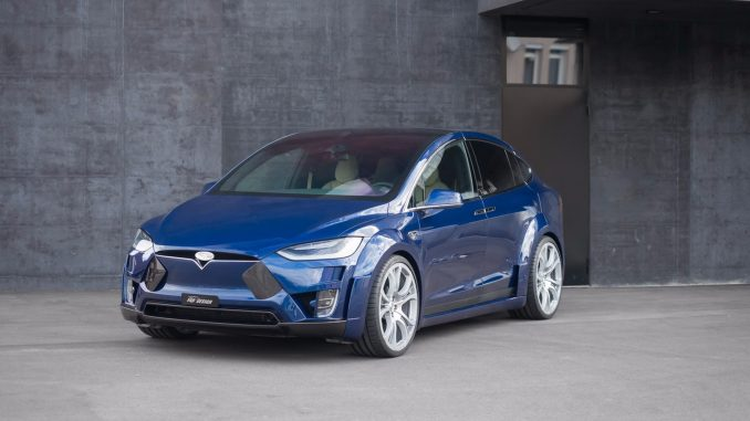 2017 Tesla Model X Virium - Fab Design