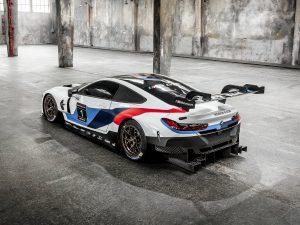 BMW M8 GTE Racecar 2018