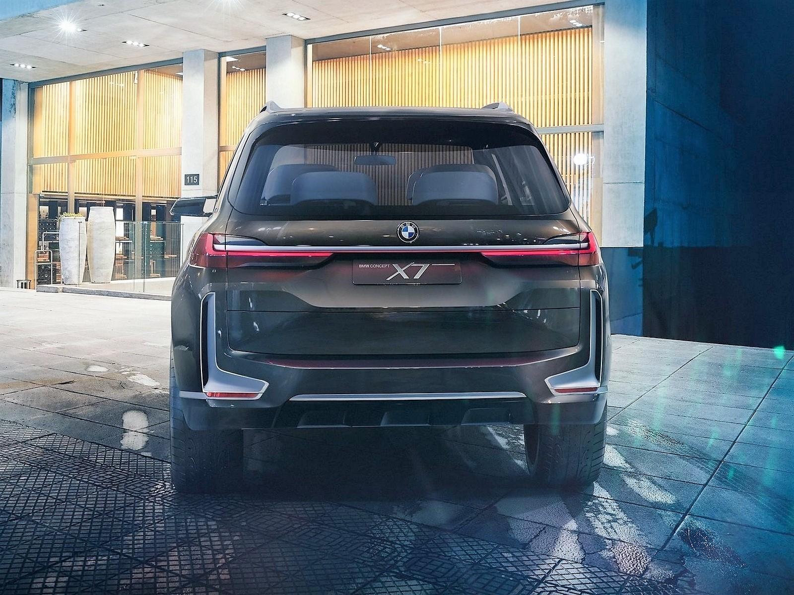 BMW X7 iPerformance Concept 2017
