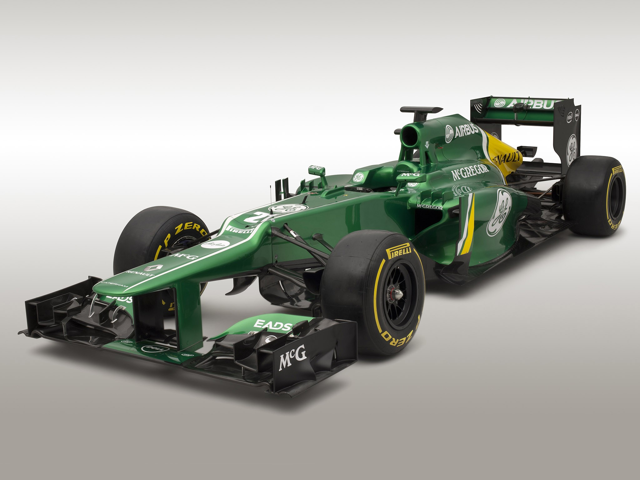Caterham F1 Team Renault V8 CT03 2013