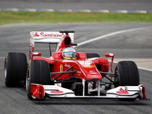 Ferrari F10 V8 F1 2010