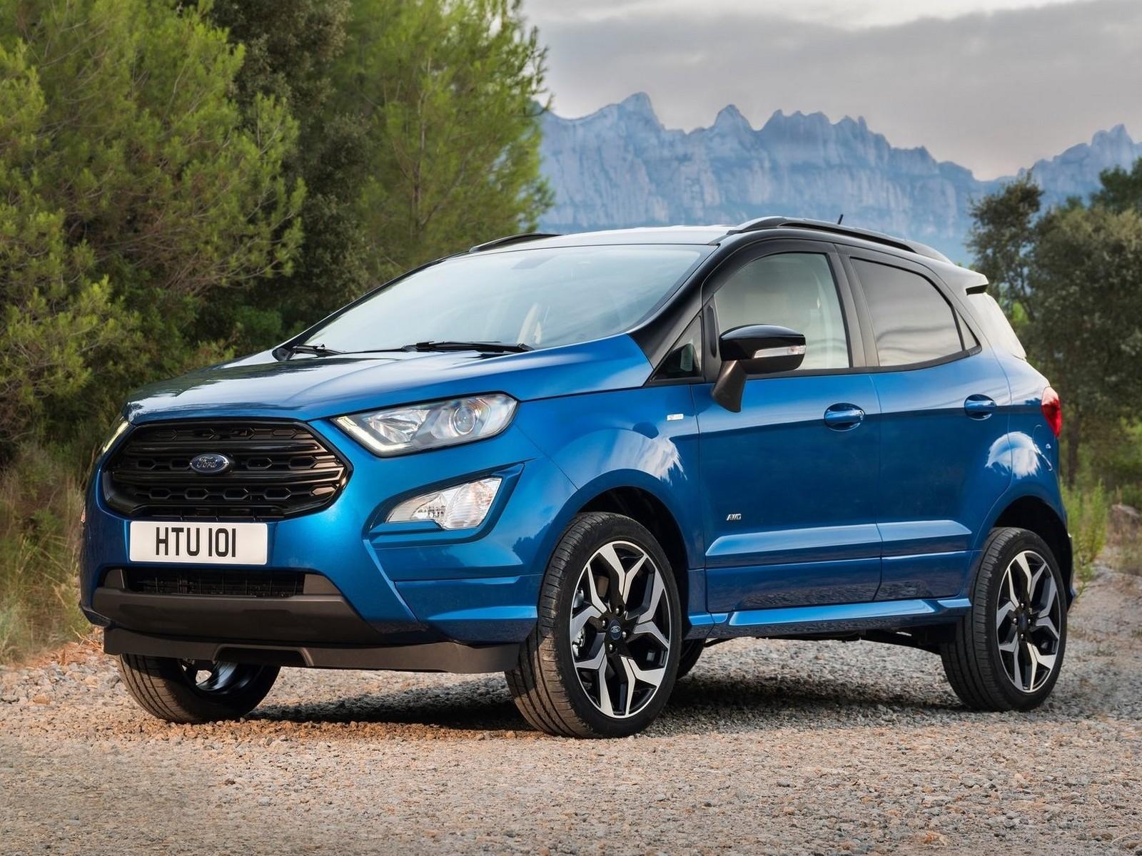 Ford EcoSport ST Line 2018