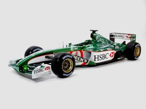2002 Jaguar Racing Cosworth V10 R3