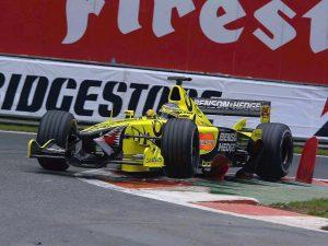 Jordan Grand Prix Honda V10 EJ11 2001
