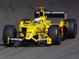 Jordan Grand Prix Honda V10 EJ12 2002