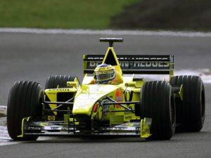 Jordan Grand Prix Mugen Honda V10 EJ10 2000 - Formule 1