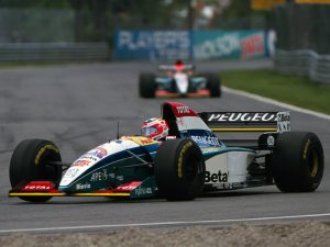 Jordan Grand Prix Peugeot V10 195 1995