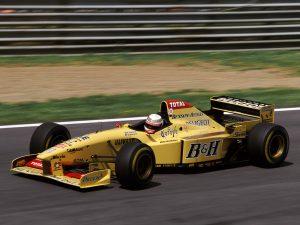 1996 Jordan Grand Prix Peugeot V10 196