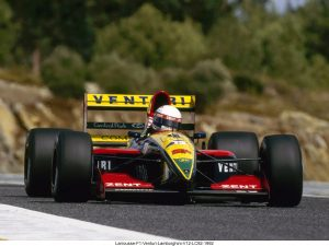 Larrousse F1 Venturi Lamborghini V12 LC92 1992