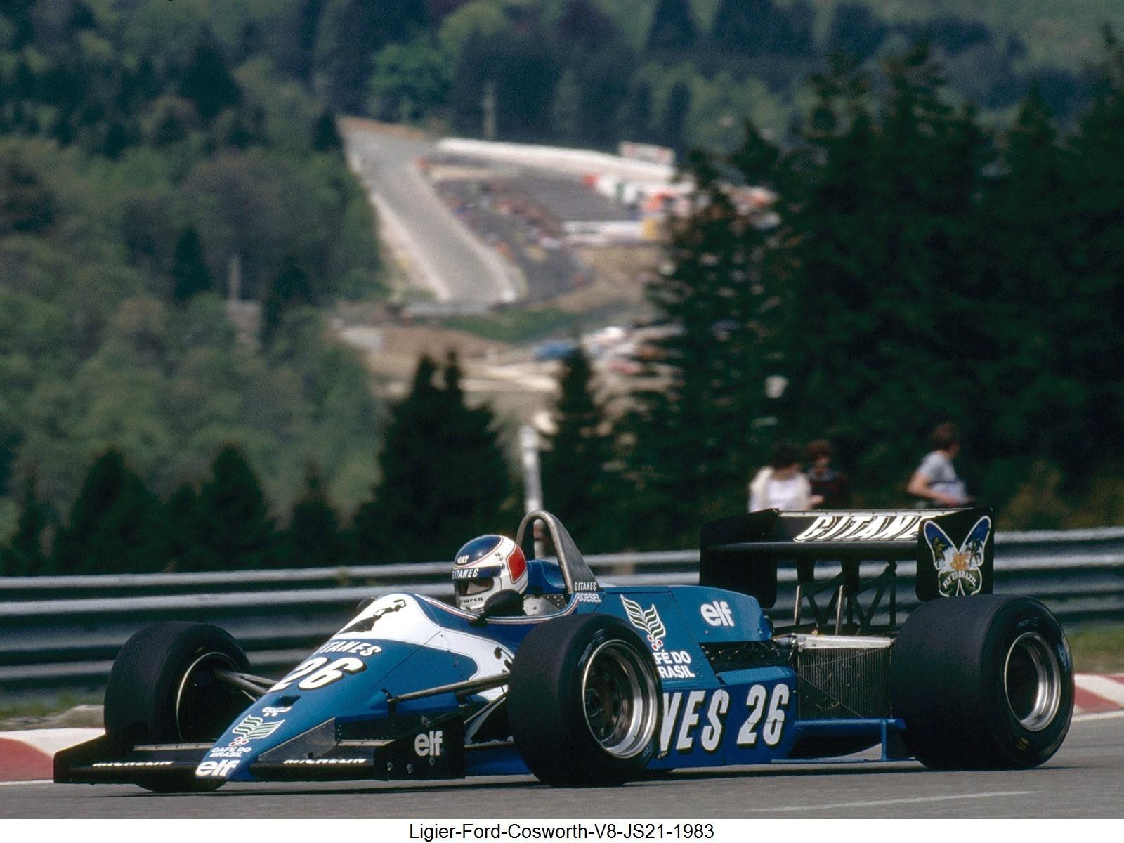 Ligier Ford Cosworth V8 JS21 1983