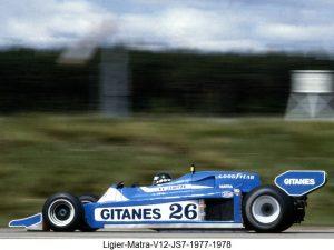 Ligier Matra V12 JS7 1977 1978