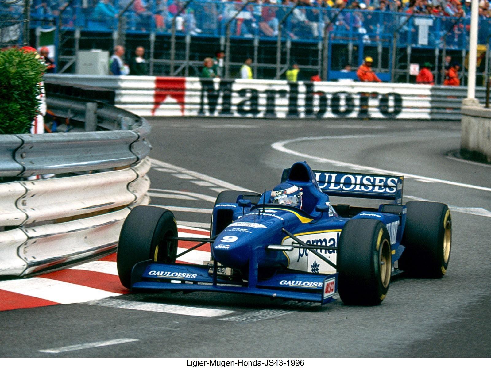 Ligier Mugen Honda JS43 1996