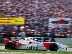 1996 McLaren Mercedes V10 MP4-11