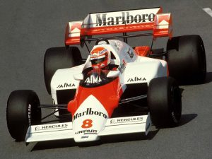 McLaren Porsche V6 Turbo MP4-2 1984