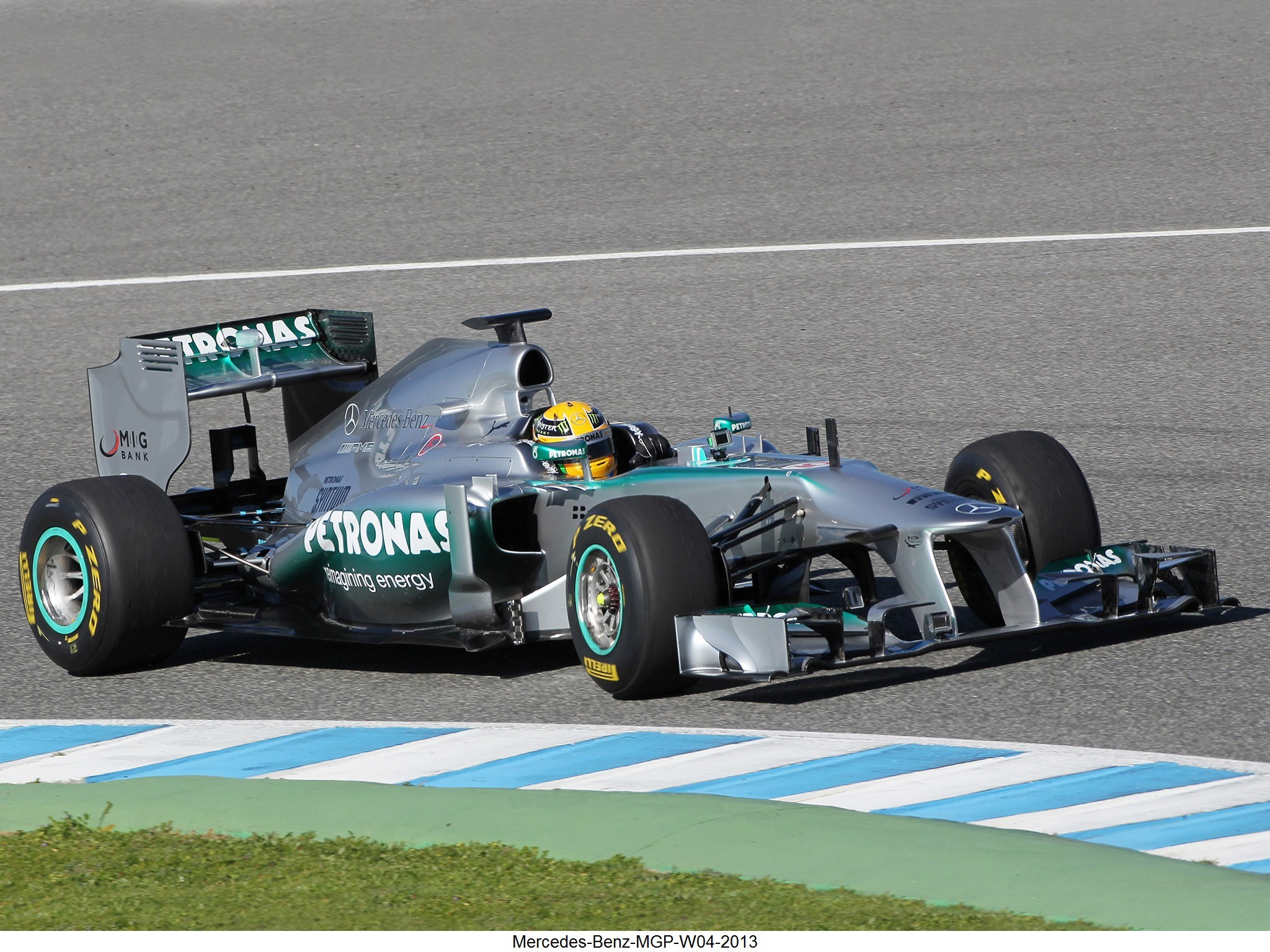 Mercedes-Benz MGP W04 2013