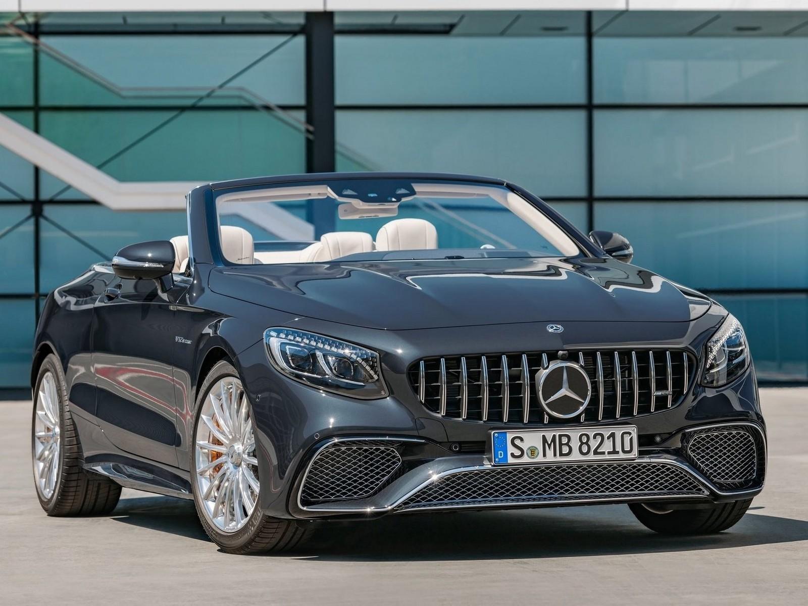 Mercedes S65 AMG Cabriolet 2018: Luxueux et Super Technologique