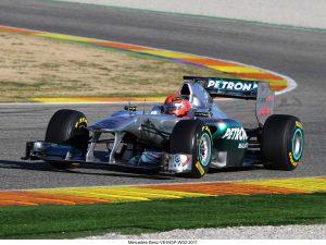 Mercedes-Benz V8 MGP W02 2011